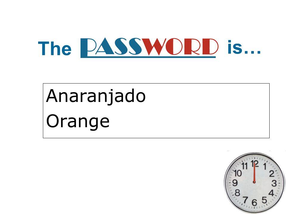 The is… Anaranjado Orange