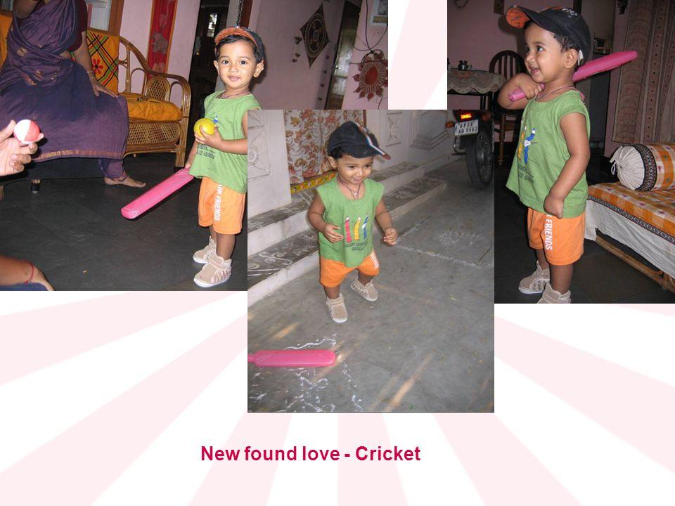 New found love - Cricket