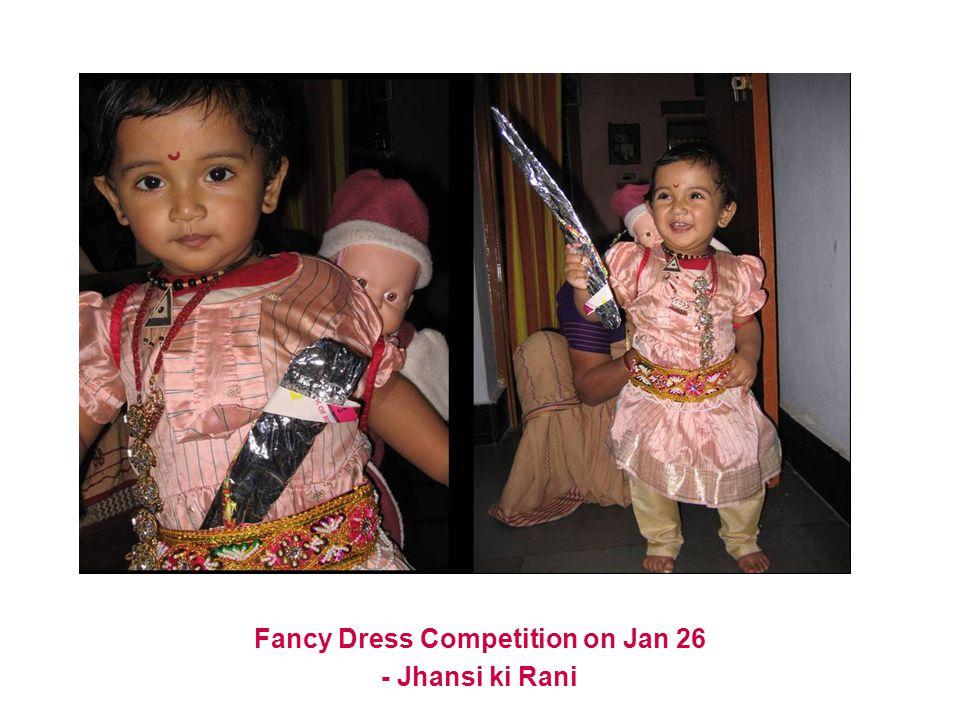 Fancy Dress Competition on Jan 26