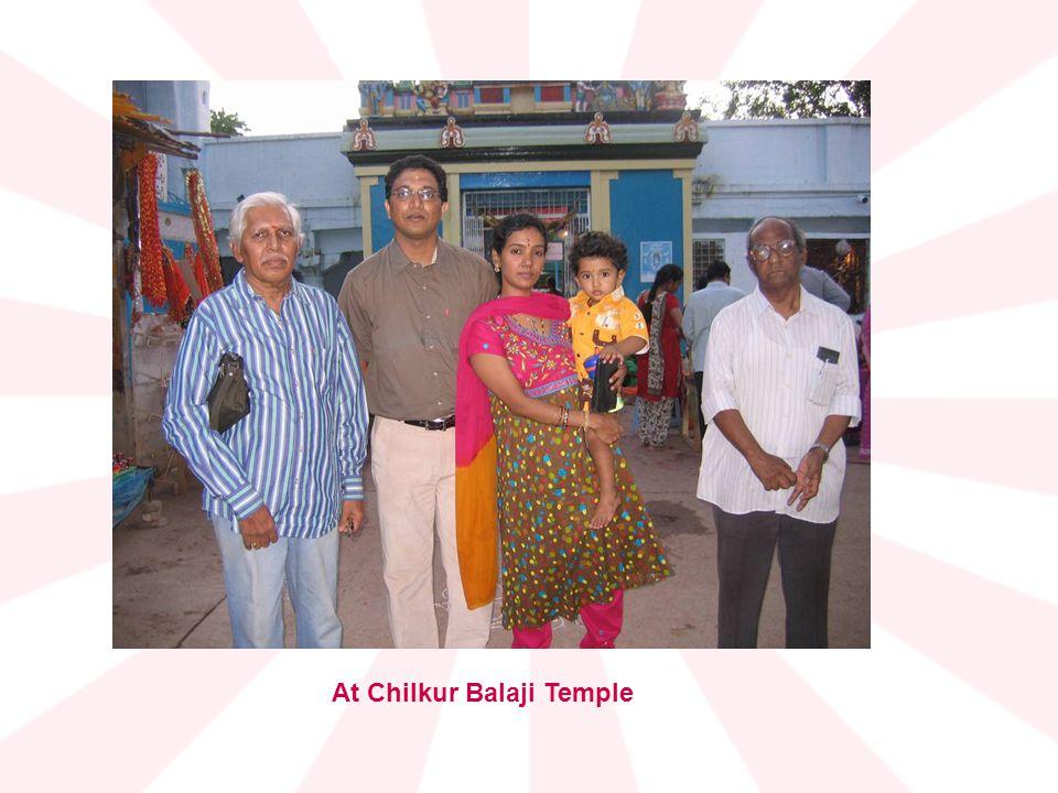 At Chilkur Balaji Temple