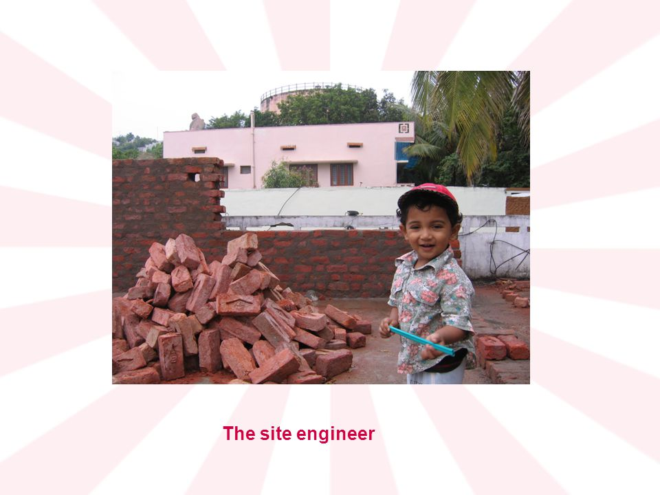 The site engineer