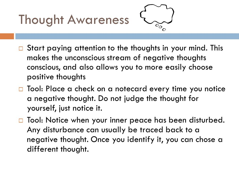 Thought Awareness
