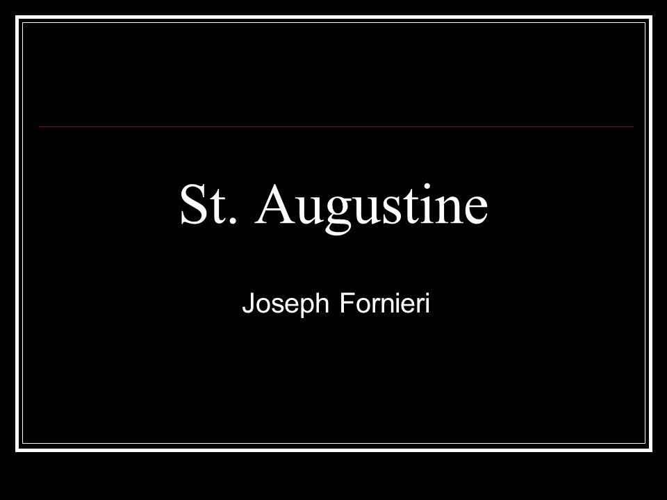 St. Augustine Joseph Fornieri
