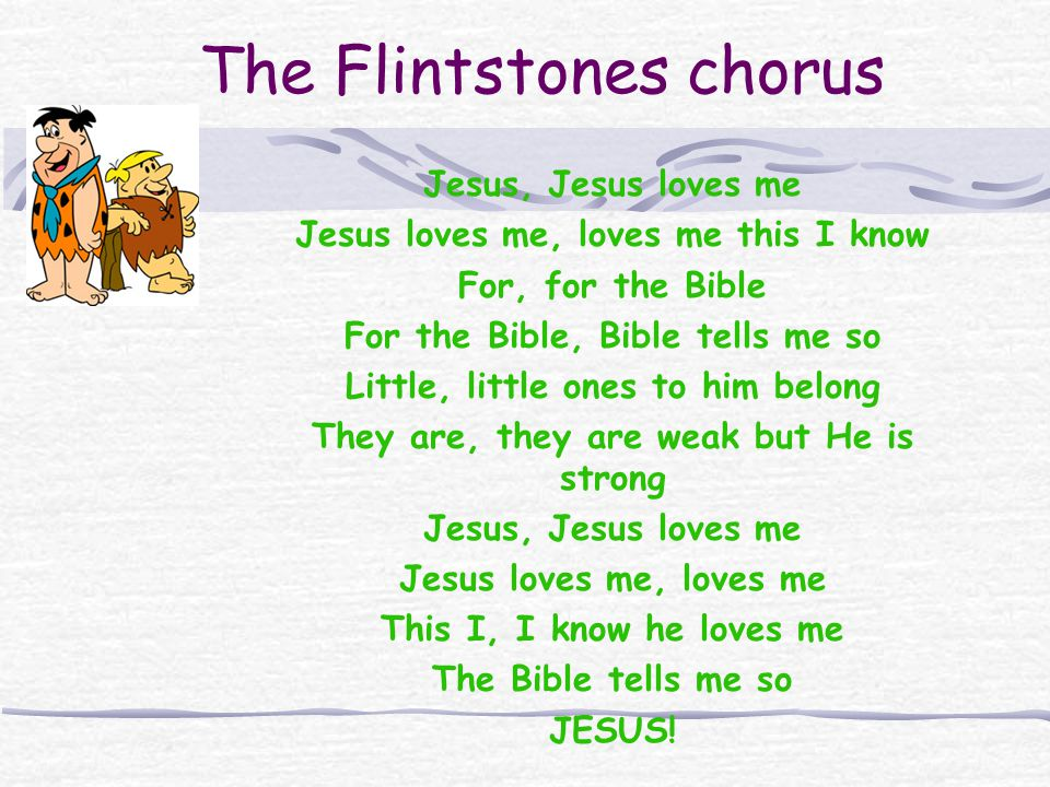 The Flintstones chorus