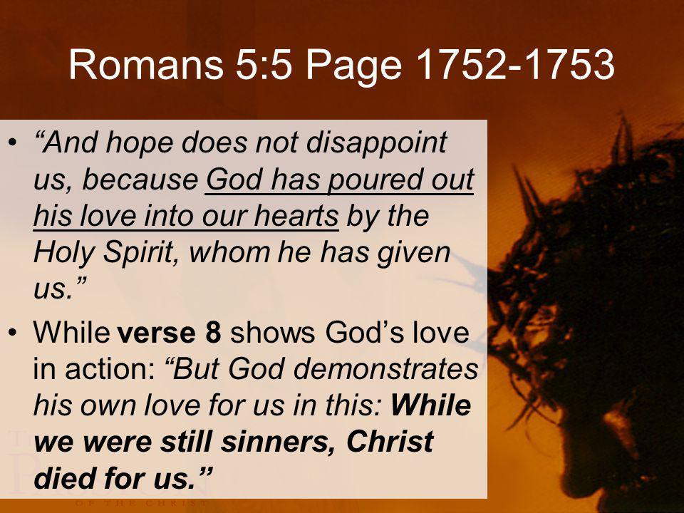 Romans 5:5 Page 1752-1753