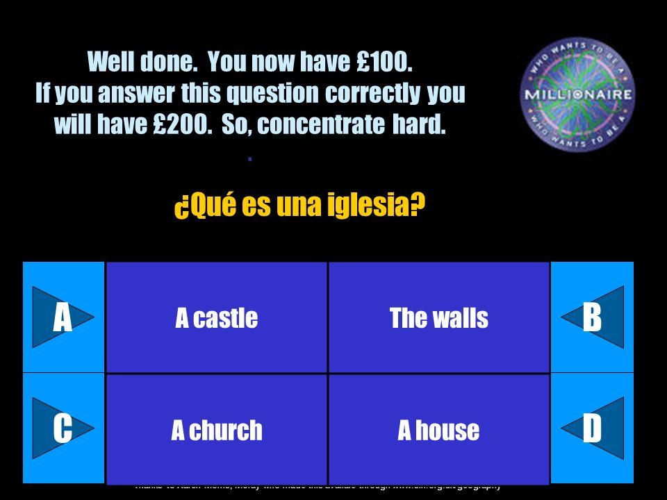 A B C D ¿Qué es una iglesia