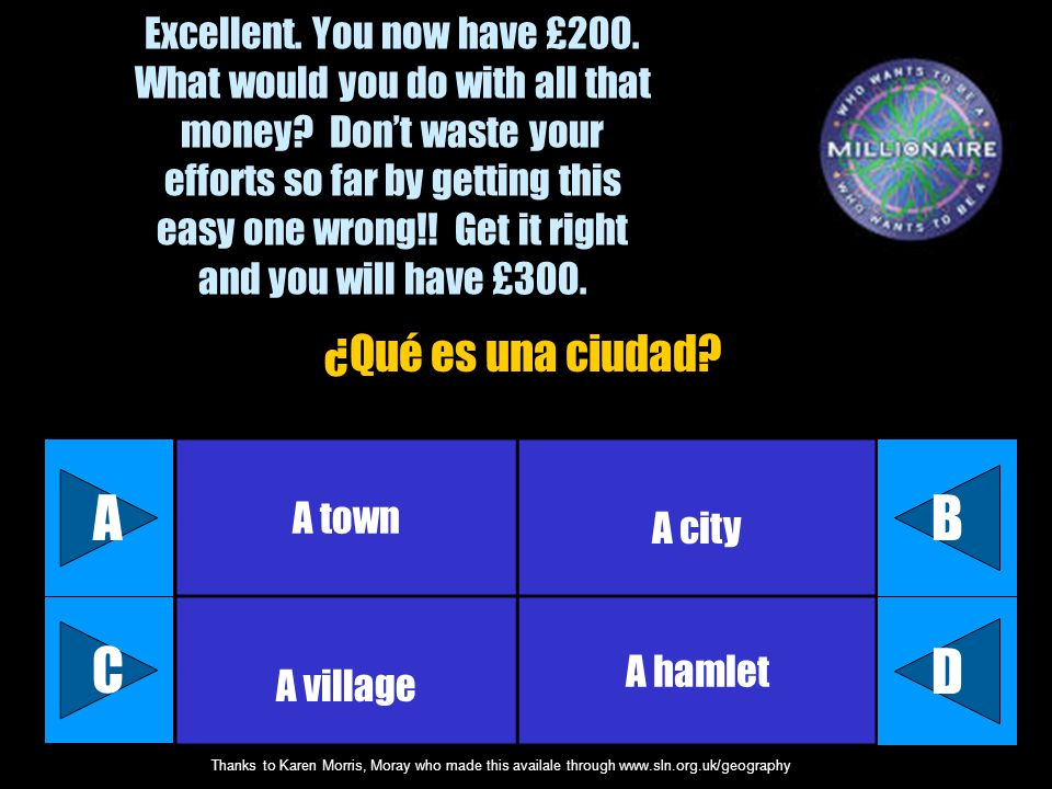 Excellent. You now have £200. What would you do with all that money