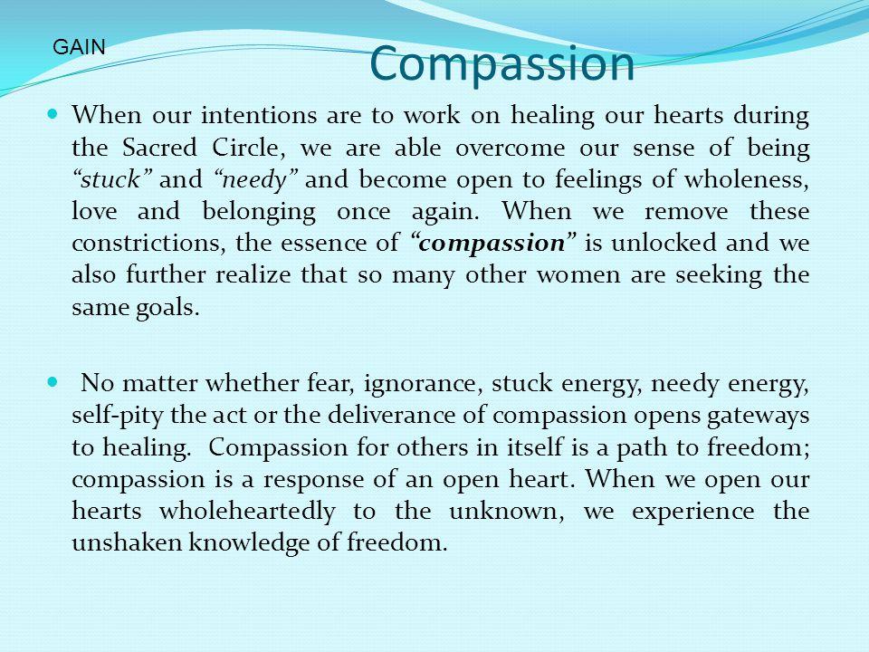 GAIN Compassion.