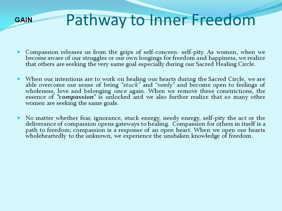 Pathway to Inner Freedom