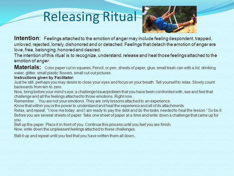 Releasing Ritual