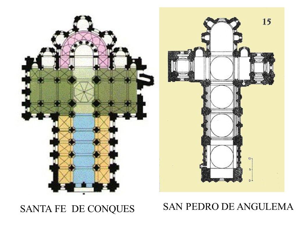 SAN PEDRO DE ANGULEMA SANTA FE DE CONQUES
