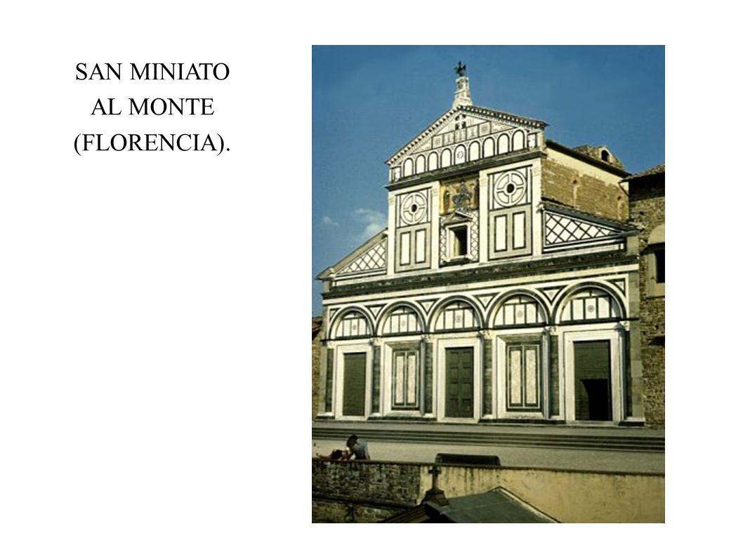 SAN MINIATO AL MONTE (FLORENCIA).