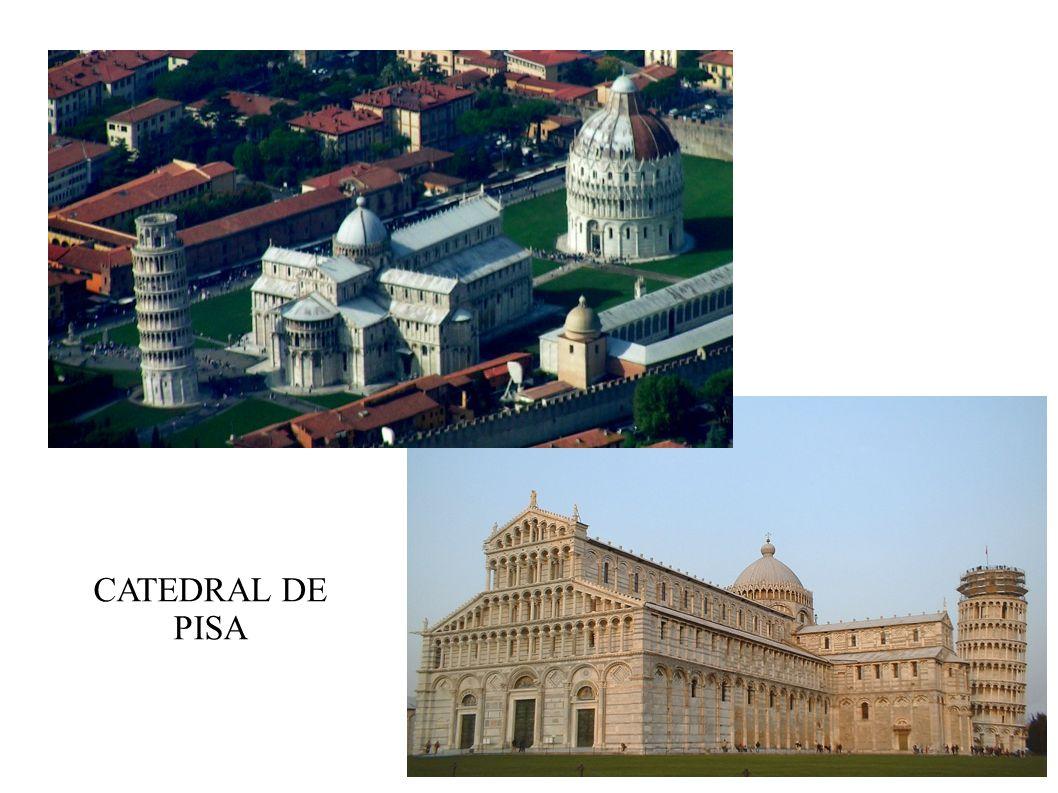CATEDRAL DE PISA ITALIA. PISA, DUOMO Y TORRE