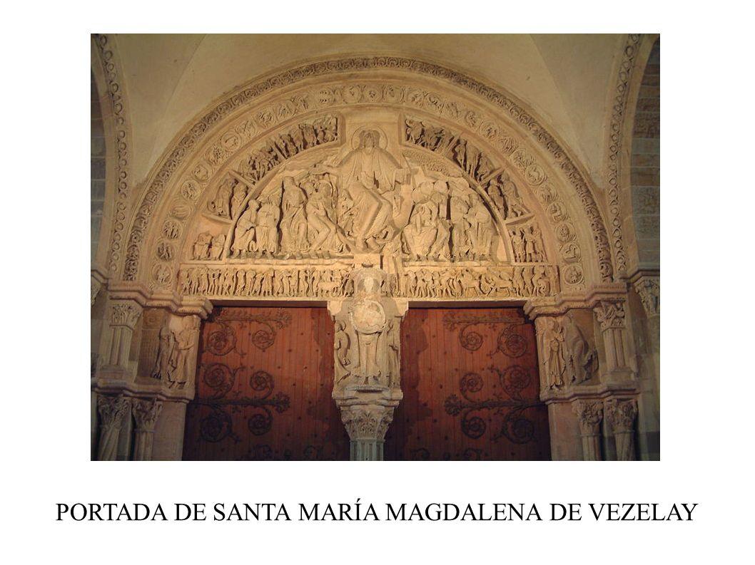 PORTADA DE SANTA MARÍA MAGDALENA DE VEZELAY