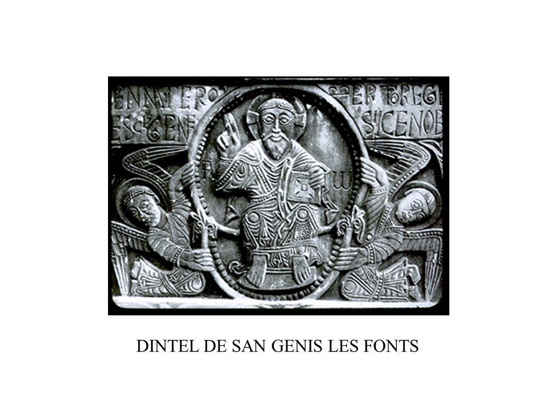 DINTEL DE SAN GENIS LES FONTS
