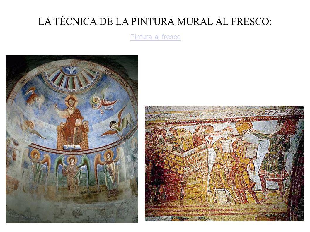 LA TÉCNICA DE LA PINTURA MURAL AL FRESCO: