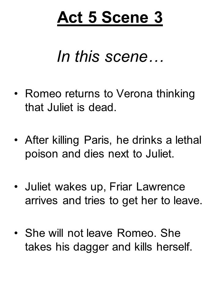 "romeo and juliet final scene essay In romeo and juliet, which is more powerful: fate or the characters' own actions   supernatural force shapes romeo and juliet's lives, by the end of the play it   in act 1, scene 4, romeo says that he fears ""some consequence yet hanging in."