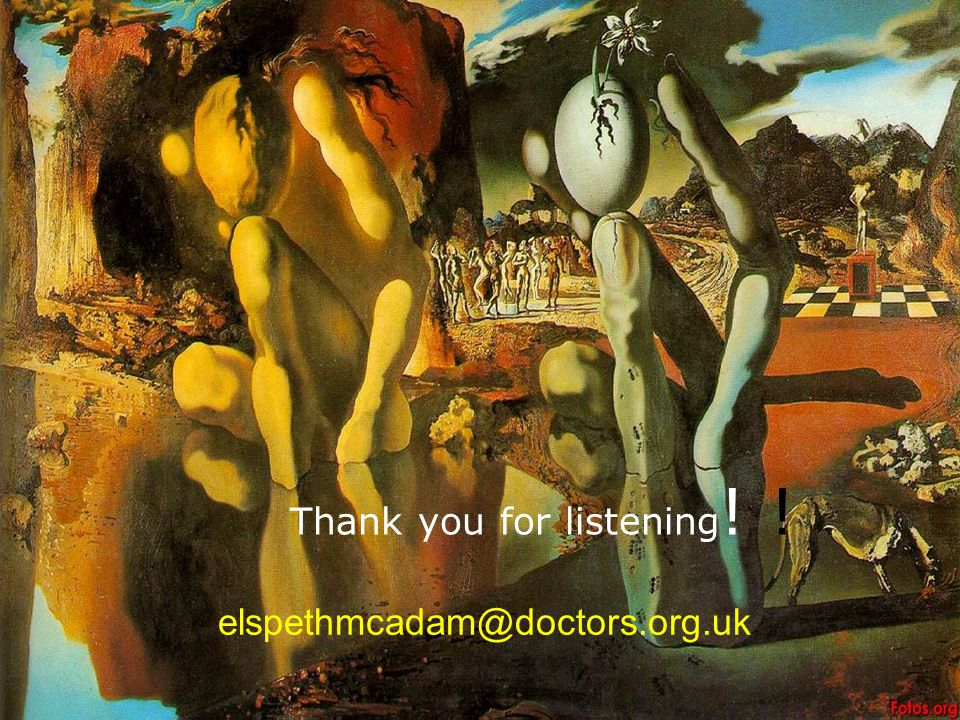 Thank you for listening! !