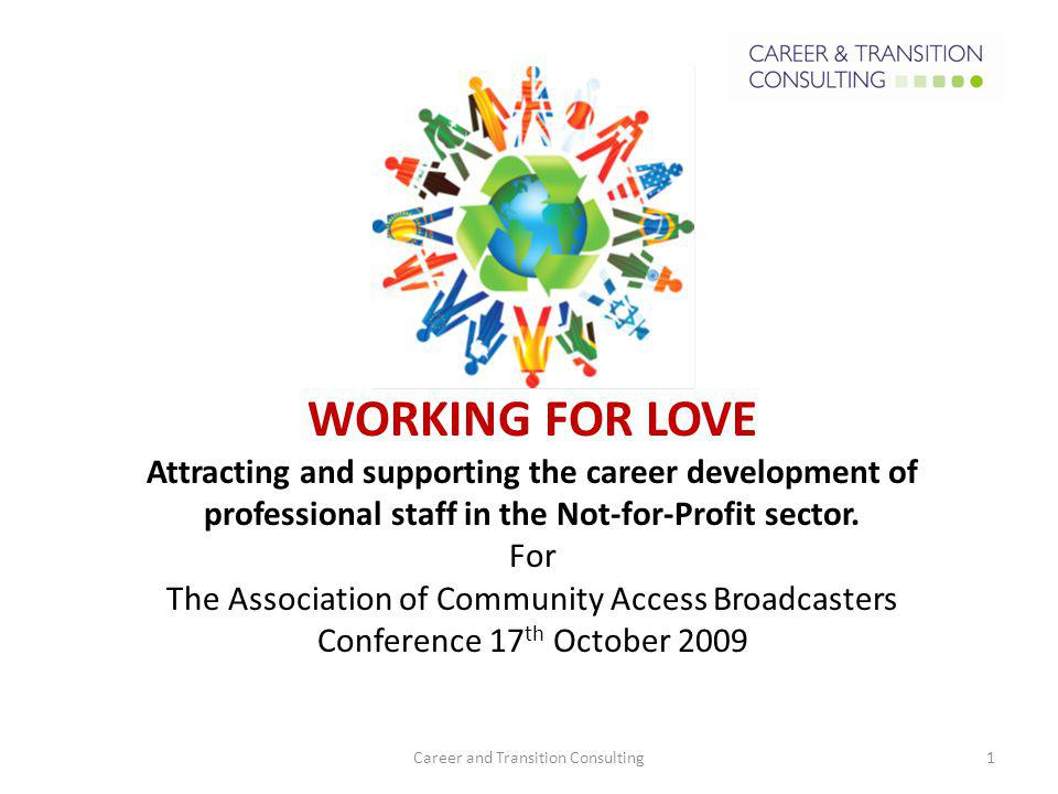 Career and Transition Consulting