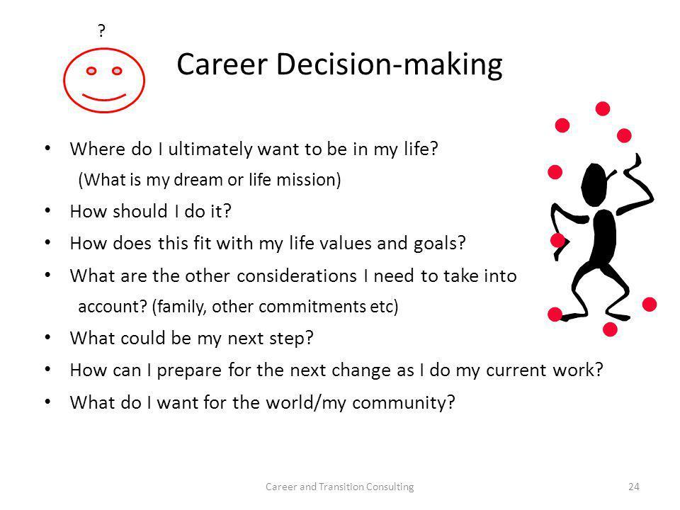 Career Decision-making