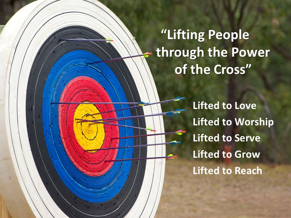 Lifting People through the Power of the Cross