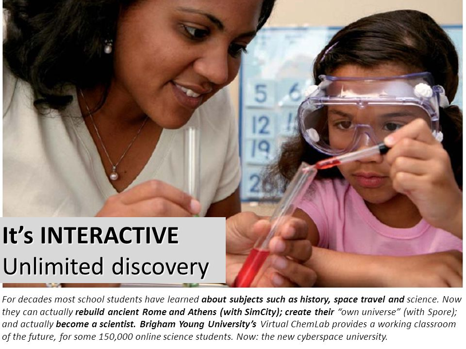 It's INTERACTIVE Unlimited discovery It's INTERACTIVE