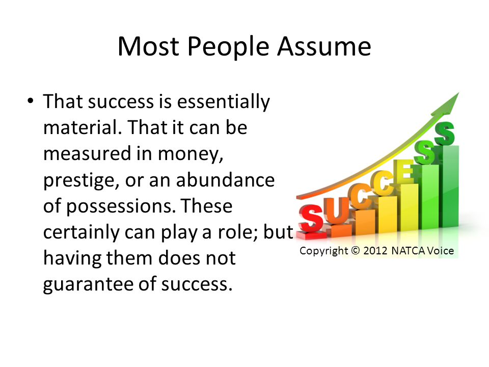 Most People Assume