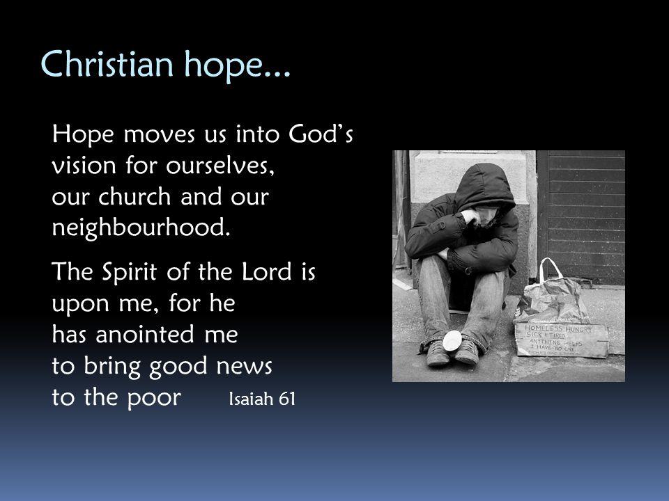 Christian hope...