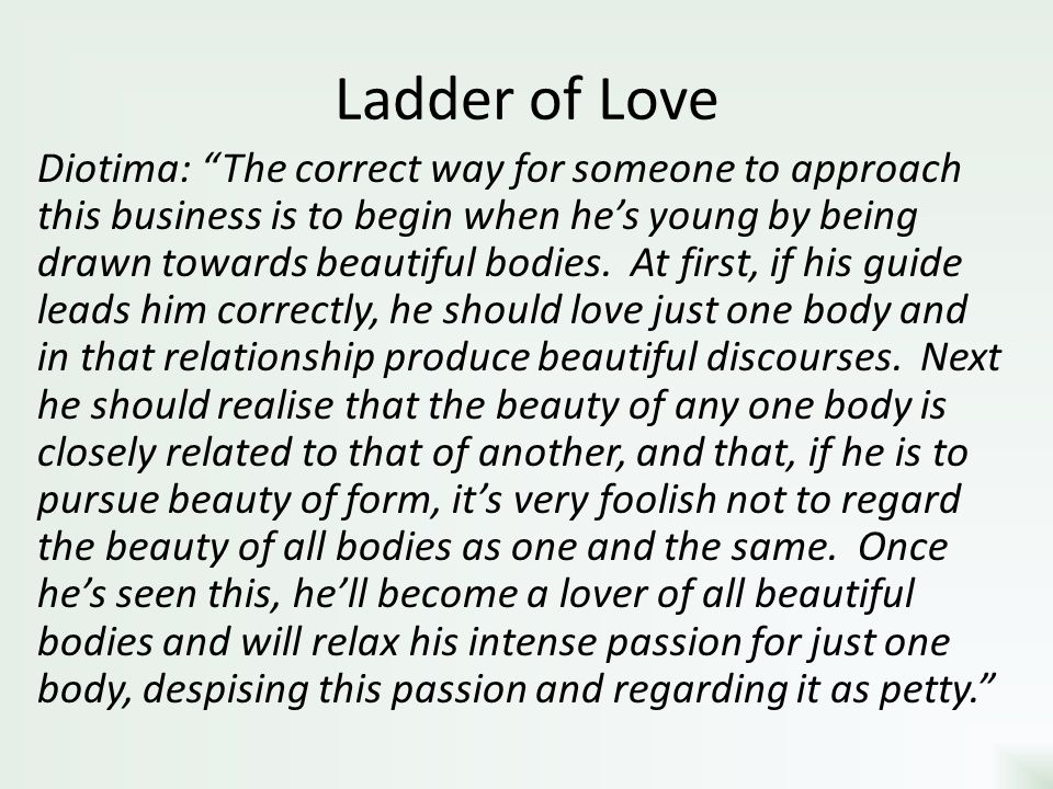Ladder of Love