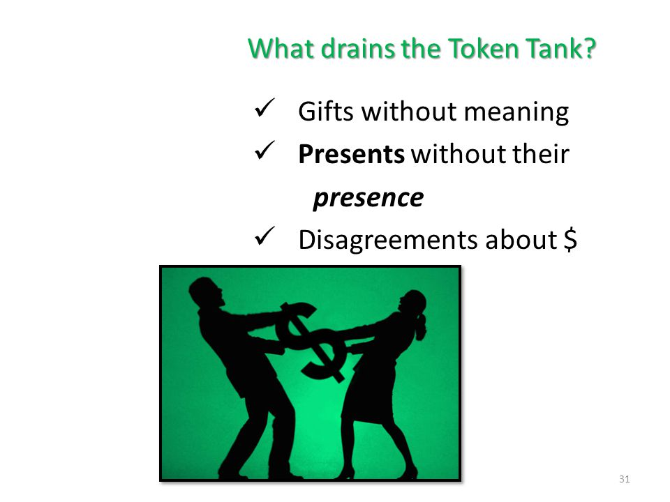What drains the Token Tank