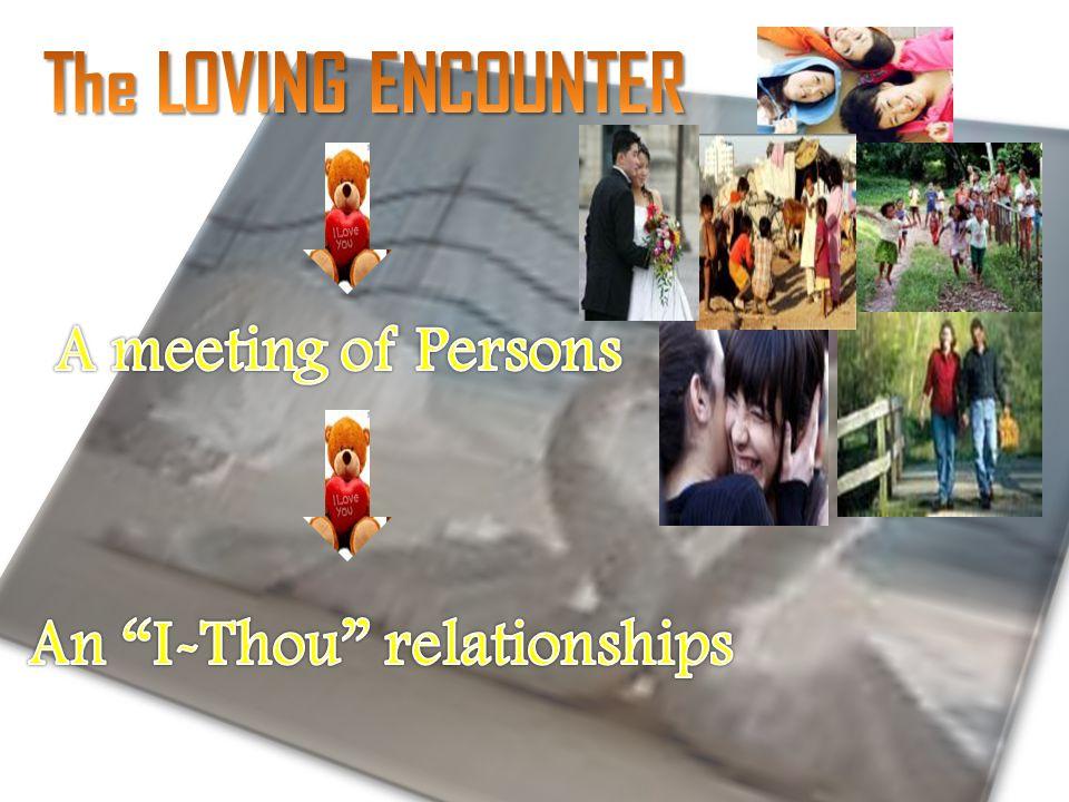 An I-Thou relationships