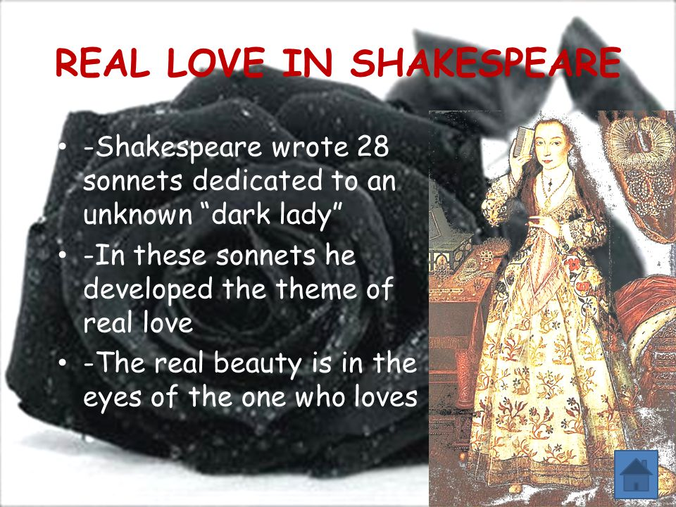 REAL LOVE IN SHAKESPEARE