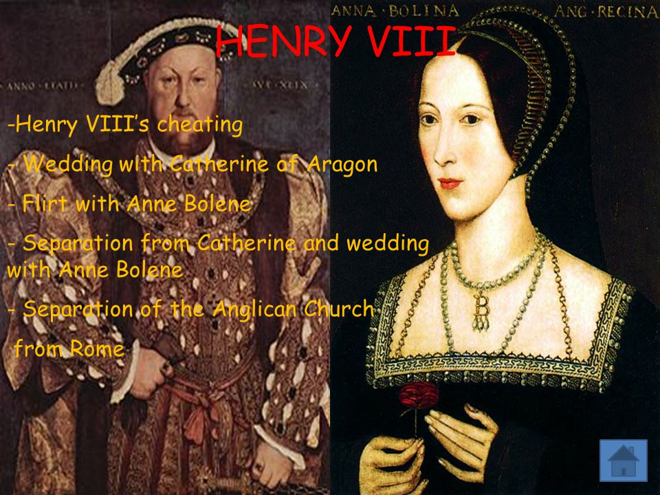 HENRY VIII -Henry VIII's cheating Wedding with Catherine of Aragon