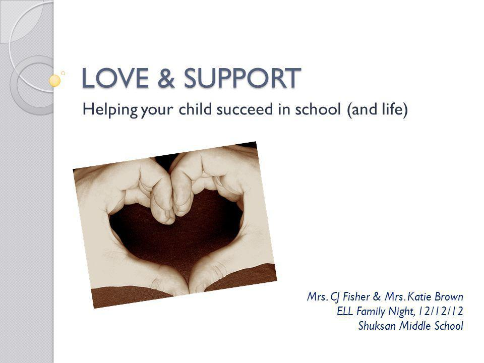 Helping your child succeed in school (and life)