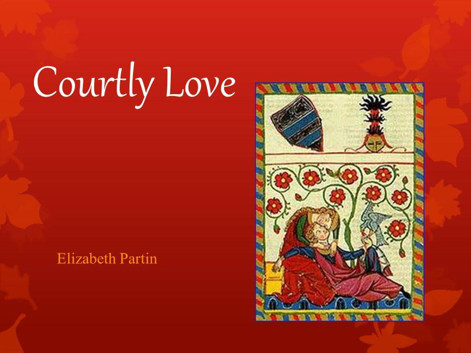 Courtly Love Elizabeth Partin