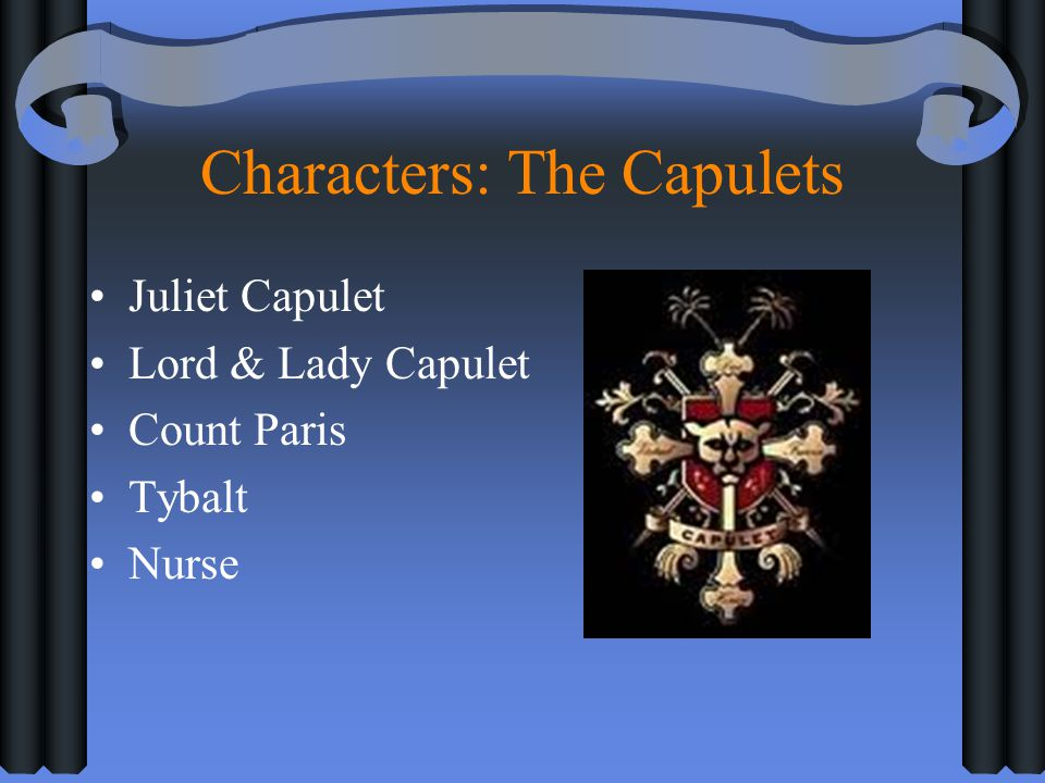 Characters: The Capulets