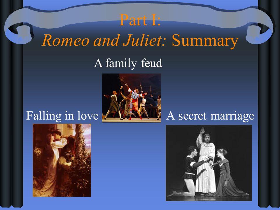 Part I: Romeo and Juliet: Summary