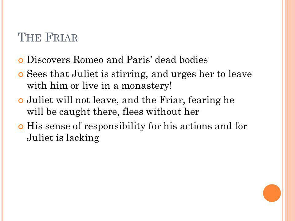 The Friar Discovers Romeo and Paris' dead bodies