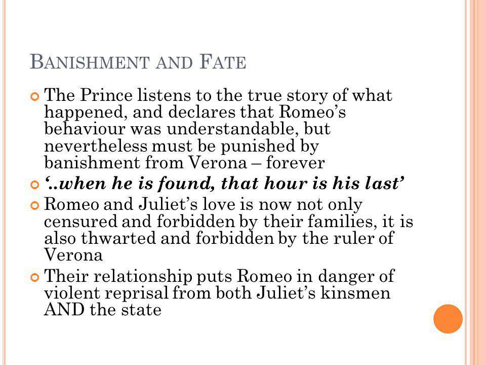 Banishment and Fate