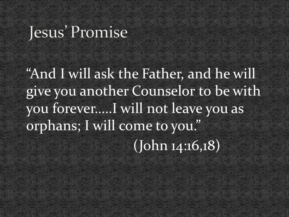 Jesus' Promise