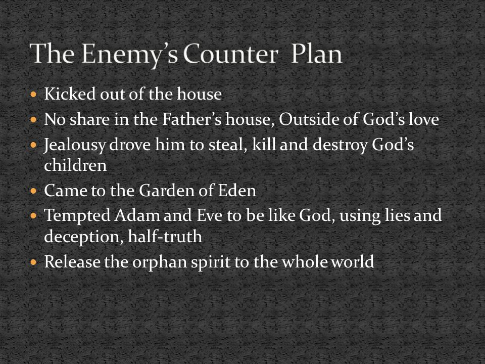 The Enemy's Counter Plan