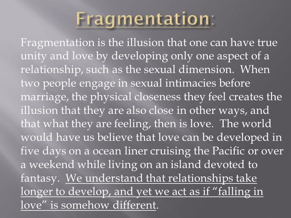 Fragmentation: