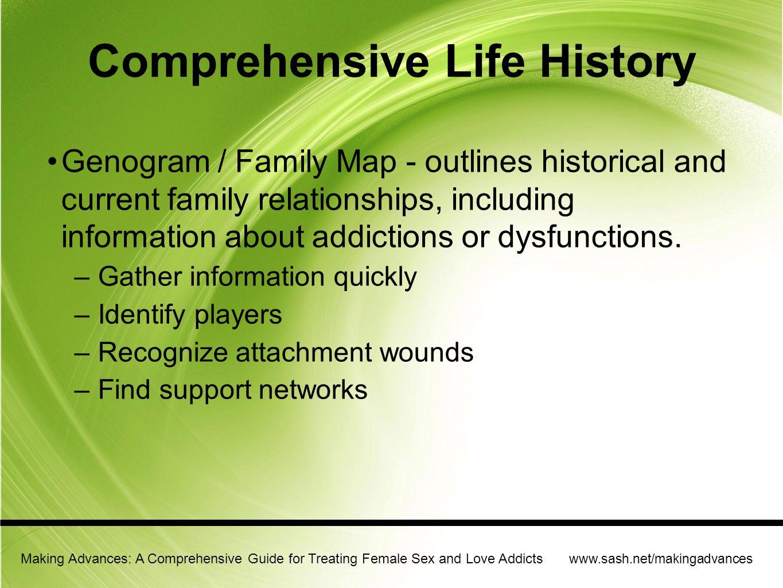 Comprehensive Life History