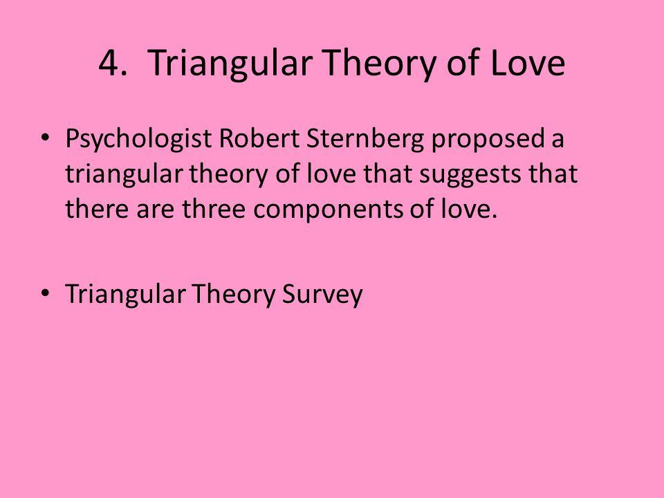 4. Triangular Theory of Love
