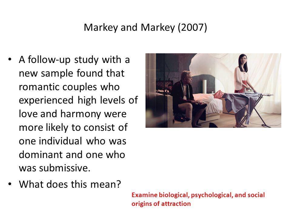 Markey and Markey (2007)
