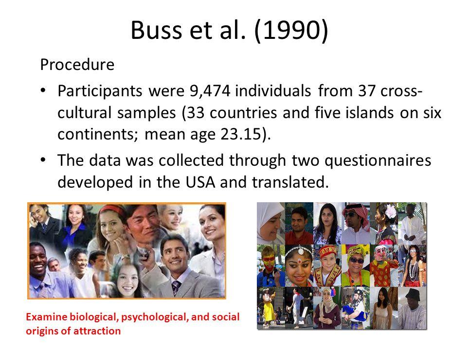 Buss et al. (1990) Procedure.