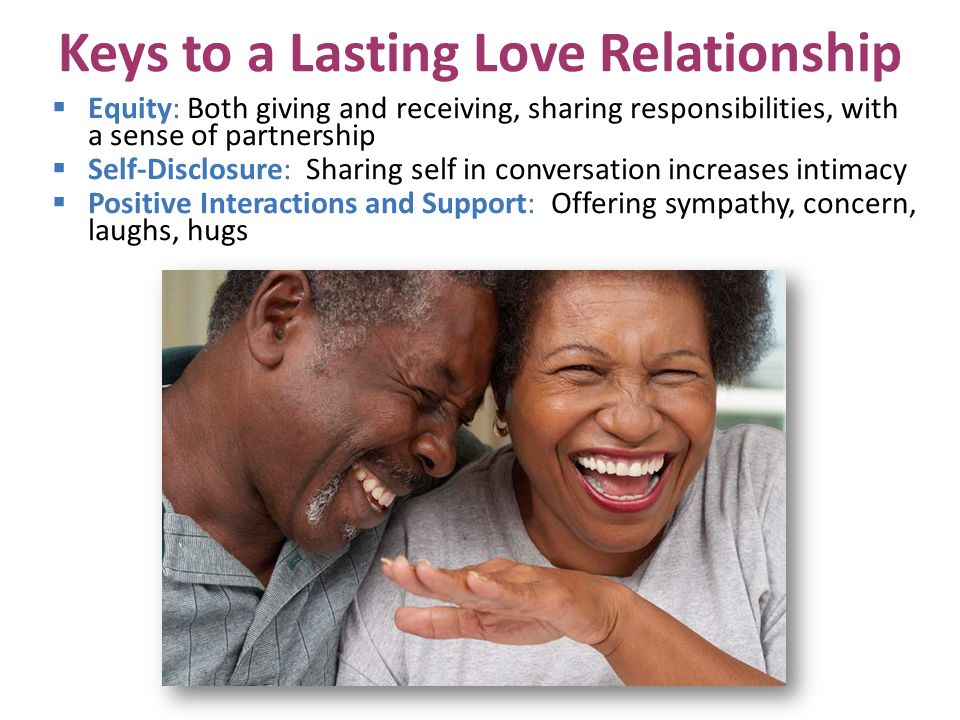 Keys to a Lasting Love Relationship