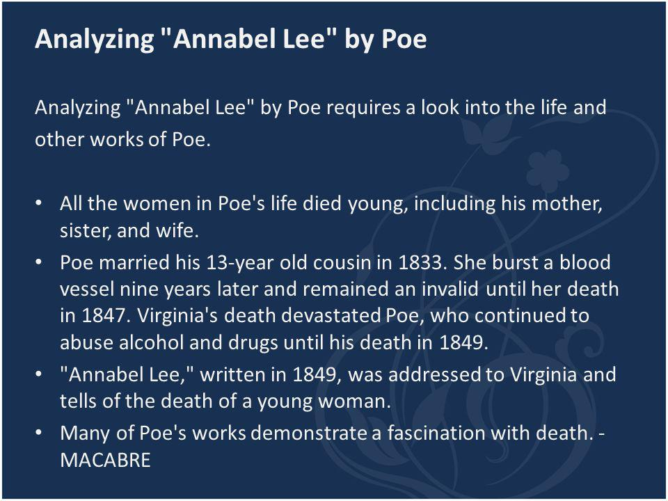 Analyzing Annabel Lee by Poe