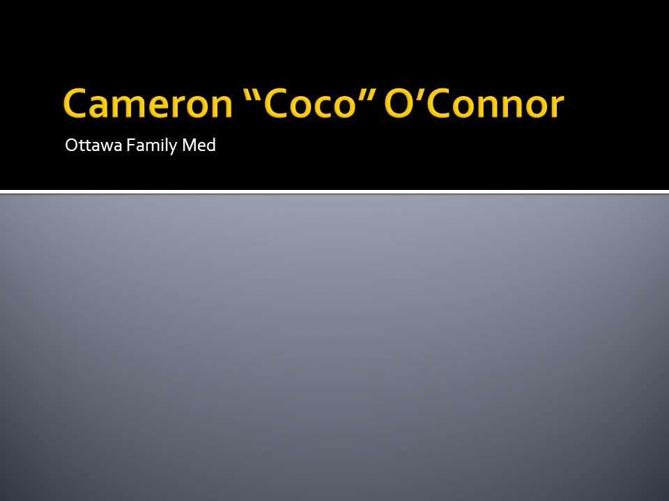 Cameron Coco O'Connor