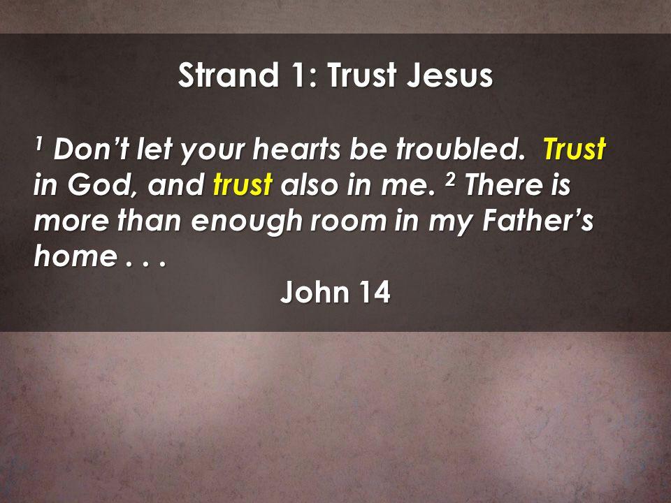 Strand 1: Trust Jesus